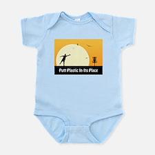 Putt Plastic In Its Place #5 Infant Bodysuit