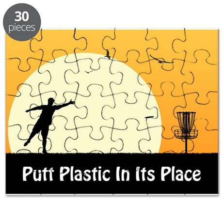 Putt Plastic In Its Place #5 Puzzle