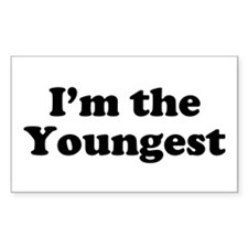The Youngest Rectangle Decal