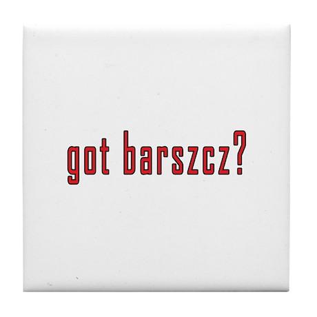 got barszcz? Tile Coaster