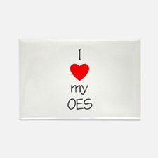 I Love My OES Rectangle Magnet (100 pack)