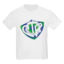 Tie Dye LDS CTR Ring Shield Blue Green T-Shirt