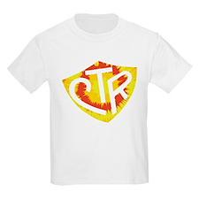 Tie Dye LDS CTR Ring Shield Red Yellow Orange T-Shirt