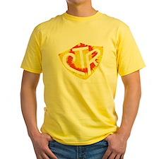 Tie Dye LDS CTR Ring Shield Red Yellow Orange Yell