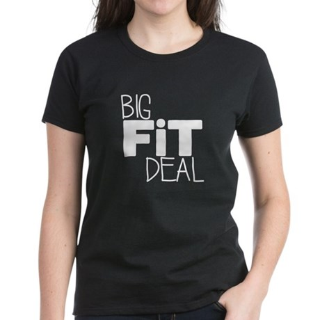 White Big Fit Deal Logo T-Shirt