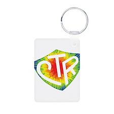 Tie Dye LDS CTR Ring Shield Rainbow Aluminum Photo