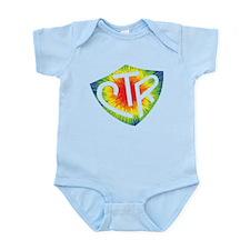 Tie Dye LDS CTR Ring Shield Rainbow Infant Bodysui