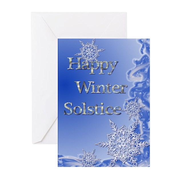 Happy Winter Solstice Greeting Cards (Pk of 10) by pixieled