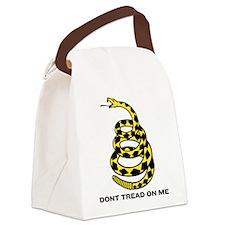 Gadsden Dont Tread On Me Canvas Lunch Bag