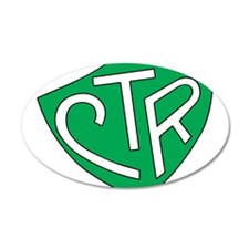 CTR Ring Shield Green Wall Decal