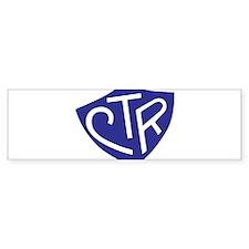 CTR Ring Shield Blue Bumper Sticker