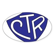 CTR Ring Shield Blue Decal