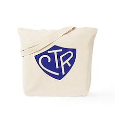 CTR Ring Shield Blue Tote Bag