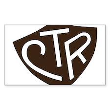 CTR Ring Shield Black Decal