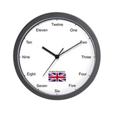 UK Wall Clock