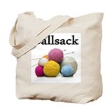 Ball sack Canvas Totes