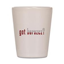 got barszcz? Flag Shot Glass