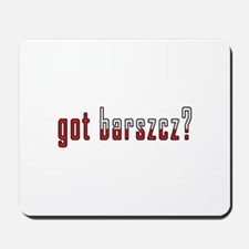 got barszcz? Flag Mousepad