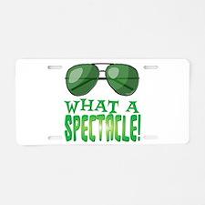 Spectacle Aluminum License Plate