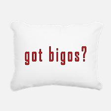 got bigos? Rectangular Canvas Pillow