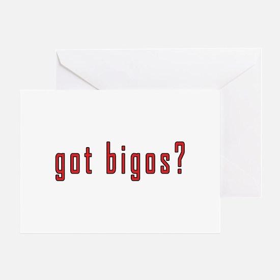 got bigos? Greeting Card