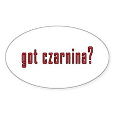 got czarnina? Decal