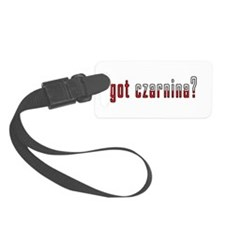 got czarnina? Flag Luggage Tag