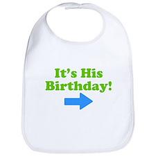 His Birthday Bib