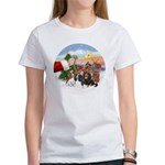 Treat - 4 Cavaliers Women's T-Shirt