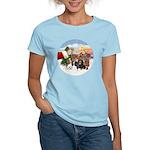 Treat - 4 Cavaliers Women's Light T-Shirt