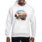 Treat - 4 Cavaliers Hooded Sweatshirt