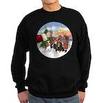 Treat - 4 Cavaliers Sweatshirt (dark)
