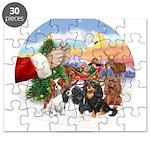 Treat - 4 Cavaliers Puzzle