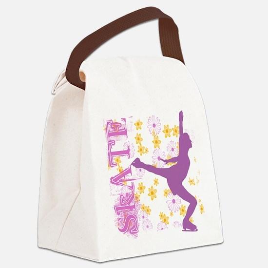 Unique Skating Canvas Lunch Bag