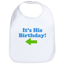 His Birthday 2 Bib