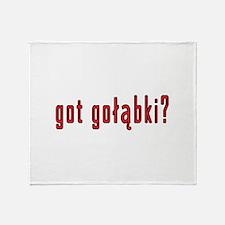 got golabki? Throw Blanket