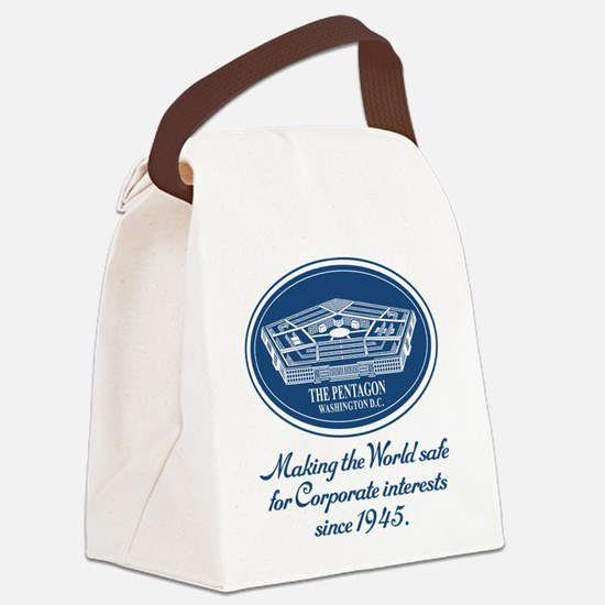 The Pentagon Canvas Lunch Bag
