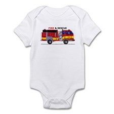 Fire And Rescue Onesie