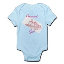 Grandpa's Girl Big Truck Infant Bodysuit