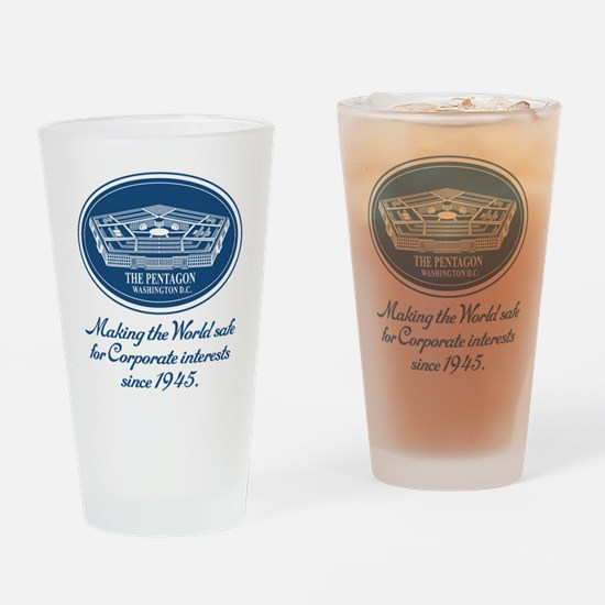 The Pentagon Drinking Glass