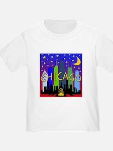 Chicago Skyline nightlife T