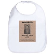 Popcorn Sutton Wanted Poster Bib