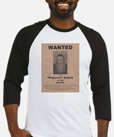 Popcorn Sutton Wanted Poster Baseball Jersey