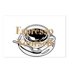 Espresso Yourself Postcards (Package of 8)