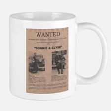 Bonnie and Clyde Wanted Poster Mug