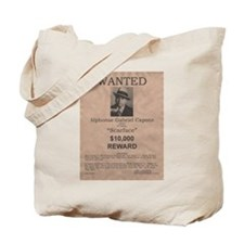 Al Capone Wanted Poster Tote Bag