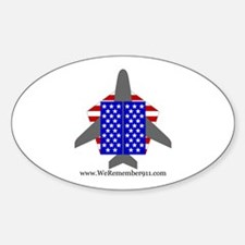 WeRemember911 Oval Decal