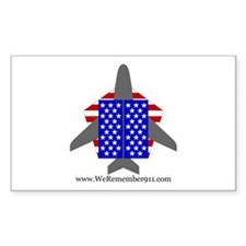 WeRemember911 Rectangle Decal