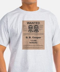 DB Cooper Wanted Poster T-Shirt