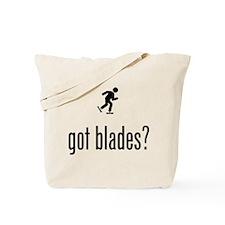 Roller Blading Tote Bag